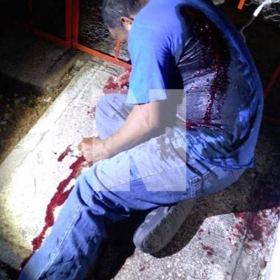 AMANECE CANCÚN CON UN EJECUTADO: Matan a balazos a un anciano en Villas Otoch Paraíso al presuntamente confundirlo con su vecino