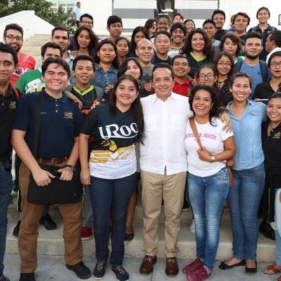"""Presentará Carlos Joaquín en lunes 'Modelo de Prevención Quintana Roo' para """"recuperar  la tranquilidad perdida"""""""