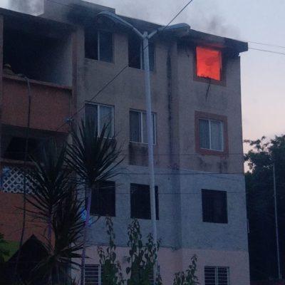 Susto en la Región 103 por un incendio