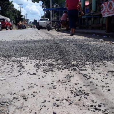 "Sin avisar, ""moderniza"" SCT avenida de José María Morelos"