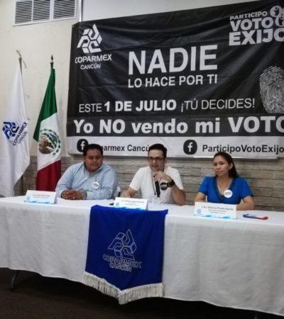 Incidentes en el cierre de casillas y conflictos entre militantes de partidos registró la Coparmex en su vigilancia de la jornada electoral
