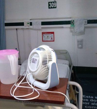 Afirma el IMSS que el aire acondicionado funciona adecuadamente