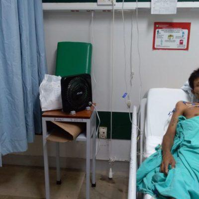 Dejan IMSS a pacientes sin aire acondicionado en Cancún