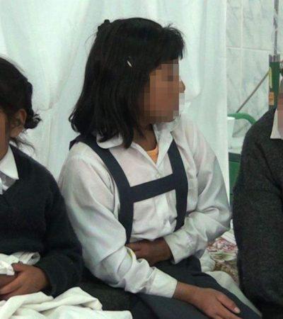 Provocan alimentos en mal estado intoxicación de niños graduados en Jáltipan, Veracruz
