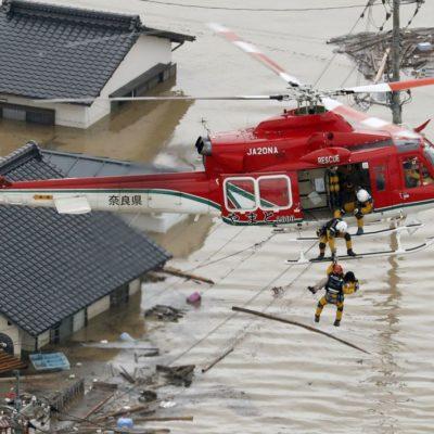 Dejan lluvias e inundaciones 100 muertos en Japón