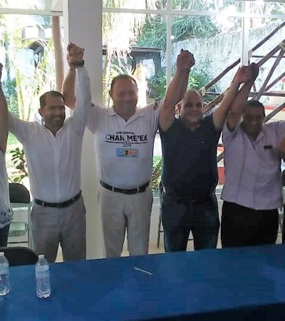 Desconfía José Esquivel del consejo municipal del Ieqroo en Felipe Carrillo Puerto