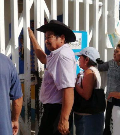 Se retrasan las casillas en Leona Vicario