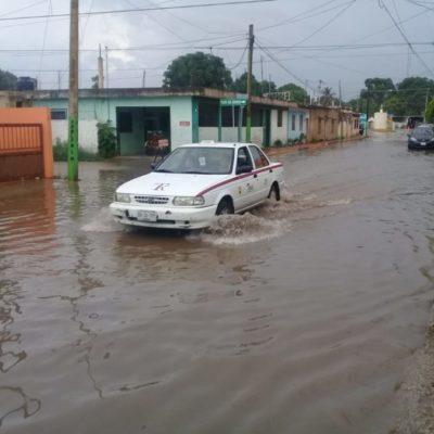 Lluvias paralizan actividades en Kantunilkín al provocar apagón en toda la ciudad