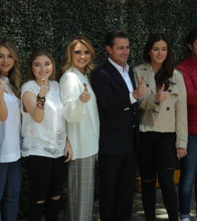 'Lo que suceda sea para bien' dice Peña Nieto y promete respaldar a quien resulte electo