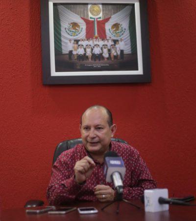 Reitera Mario Machuca que quiere dirigir al PRI, pero necesita que haya consenso para no llegar carente de legitimidad