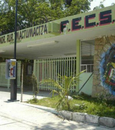 Muere un joven en extrema 'novatada' en normal rural de Chiapas; dos más fueron hospitalizados