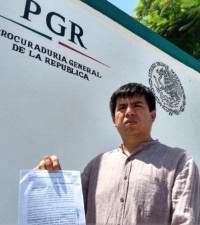 Denuncia Morena ante la Fepade a consejera presidente del Ieqroo en Solidaridad por 'darle' más de 4 mil votos de Laura Beristain a Cristina Torres