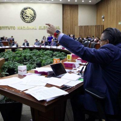 Confirma INE multa de 197 mdp a Morena por 'fraude a la ley' en fideicomiso por 19-S; partido irá al TEPJF