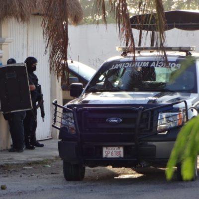 PRELIMINAR | Fuerte movilización hacia domicilio de Cozumel