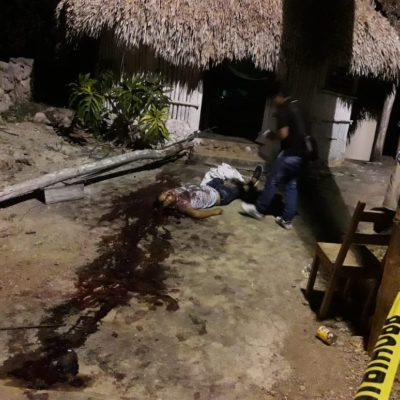 Muere joven aplastado por poste de luz en Carrillo Puerto