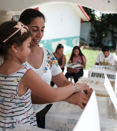 Marybel Villegas vota en la Región 510
