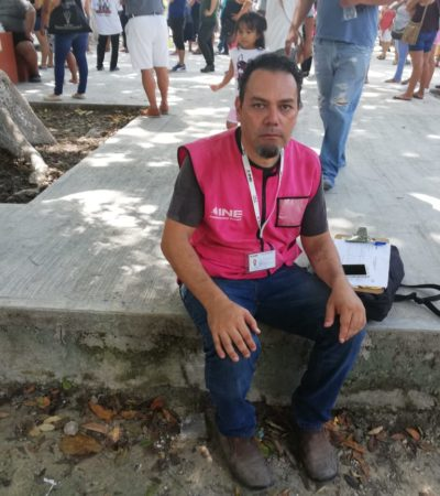 Ciudadanos, no usen plumones para votar porque se podría manchar su boleta y terminaría anulada, advierte INE