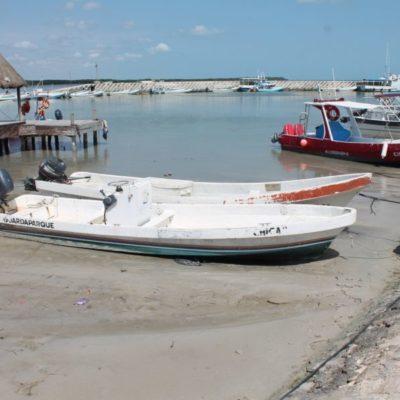Más trabajos de dragado piden pescadores y operadores turísticos de Chiquilá para mejorar sus operaciones