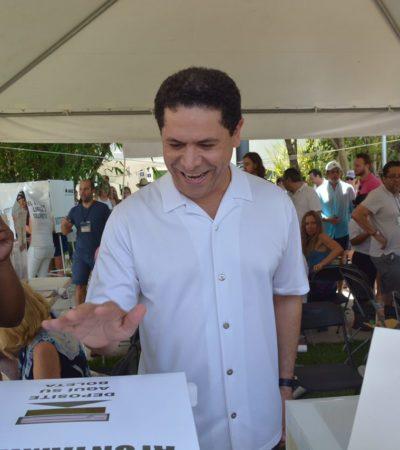 Dice Greg Sánchez que sin miedo salieron a votar los cancunenses