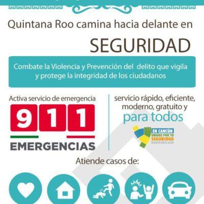De 10 a seis minutos se redujo el tiempo de respuesta para auxiliar a la ciudadanía en el 911