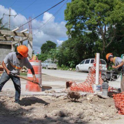 Mejoran la imagen urbana de Puerto Aventuras