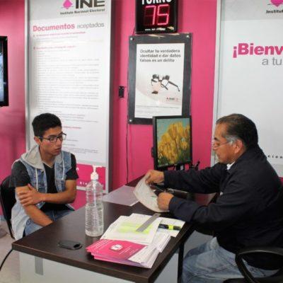 VUELVE LA NORMALIDAD: Reabren módulos del INE para trámites de credencial de elector