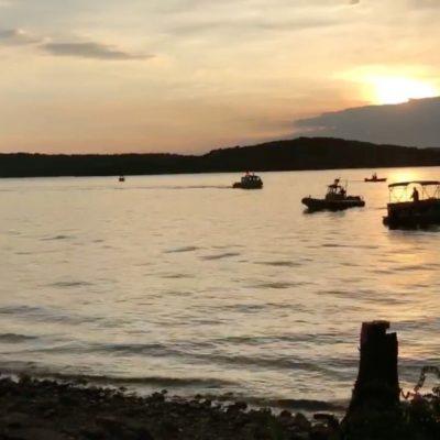 Deja naufragio en lago artificial de Missouri al menos 11 muertos; navegaban en un bote 'anfibio'