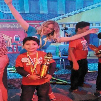 Niños veracruzanos compiten en Moscú y ganan primeros lugares en cálculo aritmético mental