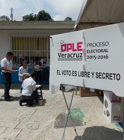 Apenas con el 50% de casillas instaladas, el OPLE Veracruz ya declaró receso; cunden quejas