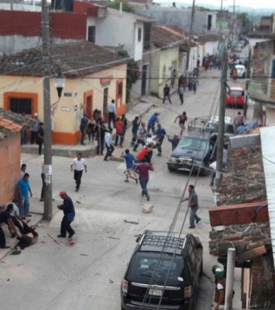 Batalla por alcaldías suma tres muertos y crecientes protestas en Chiapas