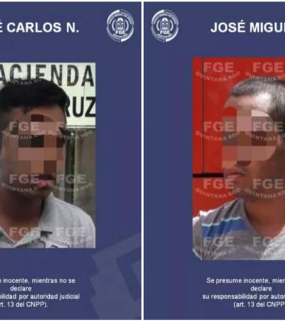 TRATABAN DE LLEGAR A MÉRIDA EN AUTOBÚS CUANDO LOS DETUVIERON: Capturan a los dos sospechosos del asesinato de una mujer en Misión de las Flores de Playa del Carmen