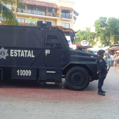 Robustecen presencia policiaca en vacaciones en Quintana Roo