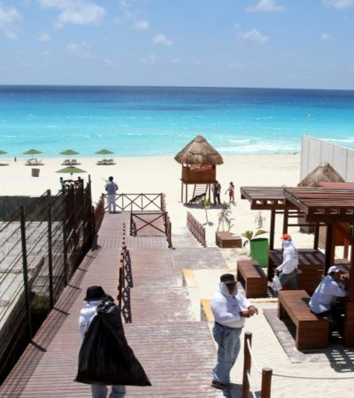 Rompeolas: En proceso, venta de 'Playa Marlín'