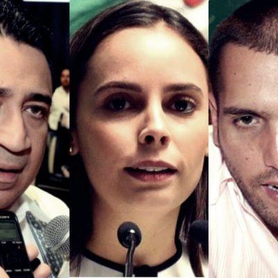 Eduardo Martínez Arcila, Ana Paty Peralta y Jorge Emilio González llegan al Congreso como 'pluris'