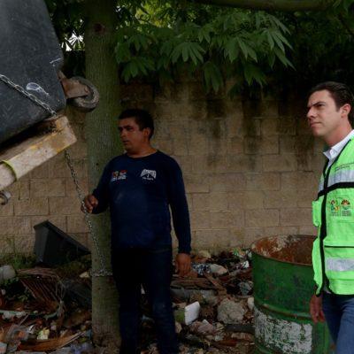 OPERATIVO DE VERANO: Redobla Siresol trabajos de recolección de basura en Cancún