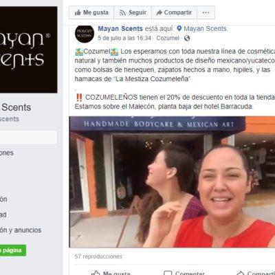 Paulina García Achach, ex funcionaria del borgismo libre bajo fianza, estrena boutique en Cozumel