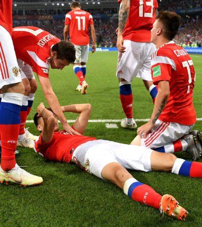 RUSIA 2018│CAE LA ANFITRIONA EN TANDA DE PENALES: La semifinal será Francia contra Bélgica e Inglaterra contra Croacia