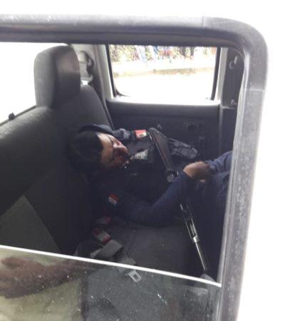 Ataque de presuntos 'huachicoleros' deja 4 policías y 2 civiles muertos en Tezonapa, Veracruz