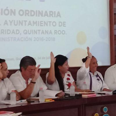 Sacrifican ocho obras para bono policiaco en Playa del Carmen