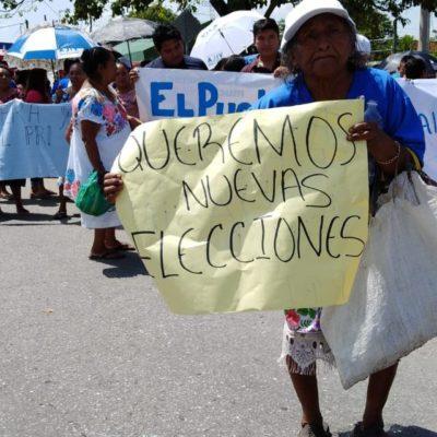 SURGEN CONFLICTOS POR RESULTADOS EN YUCATÁN: Alegan simpatizantes del PAN fraude en elección municipal y bloquean acceso a Kanasín