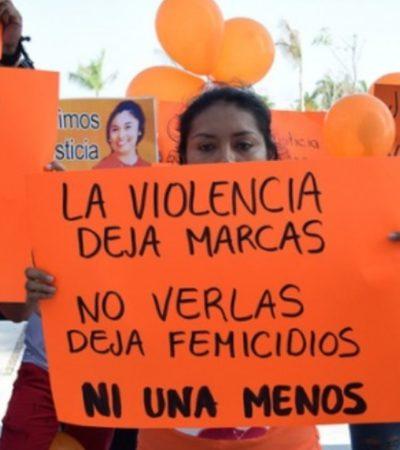 Exigen familiares de joven asesinada en Campeche indagar responsabilidad de su propia pareja en el crimen