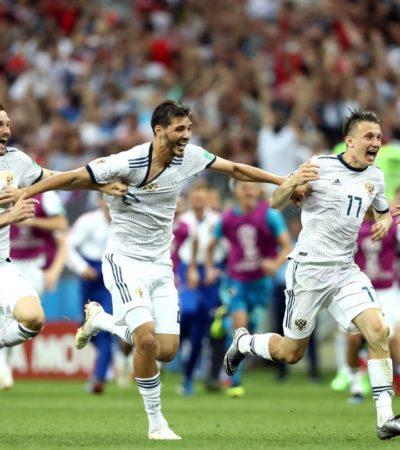 RUSIA 2018 │La anfitriona despide a España en un partido de alta tensión; Croacia clasifica con Subasic como héroe
