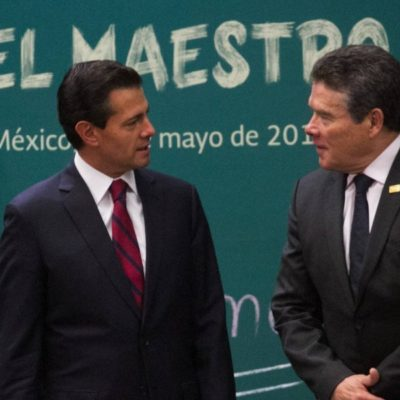 Tarda SNTE cuatro años en descubrir 'deficiencias e inconsistencias' en reforma educativa de Peña Nieto
