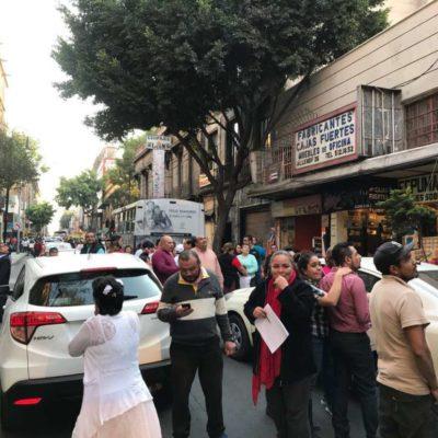 Siente CDMX sacudida por sismo de magnitud 5.9 a diez meses del 19-S; epicentro en Huajuapan de León, Oaxaca