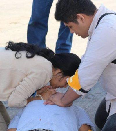 Atenta sicario contra joven de 15 años cuando descendía de un 'colectivo' en Tuxtla Gutiérrez