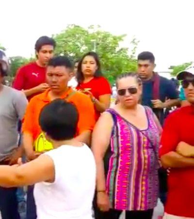Con retraso y malestar de ciudadanos, abre casilla especial en el Palacio Municipal de Cancún pero no todos podrán votar