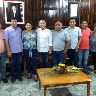 Se reúnen edil electa y saliente en José María Morelos