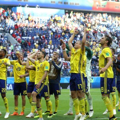 Suecia jugará cuartos de final por primera vez desde 1994; Inglaterra se adueña del último cupo