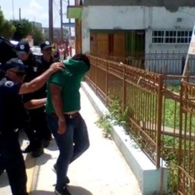 Soprenden a 6 sujetos armados que merodeaban casilla en Jonuta, Tabasco
