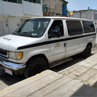 A taxistas de Carrillo Puerto, ni para la gasolina alcanza, dicen